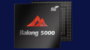 Huawei 5G modem Balong 5000
