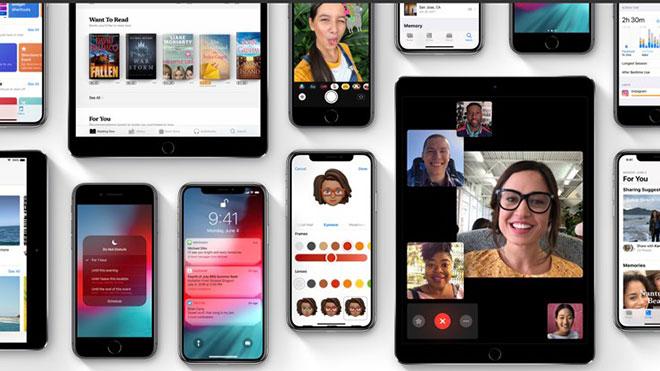 iOS 12.4.1 Apple iPhone