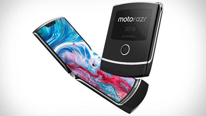Katlanabilir telefon Motorola RAZR 2019
