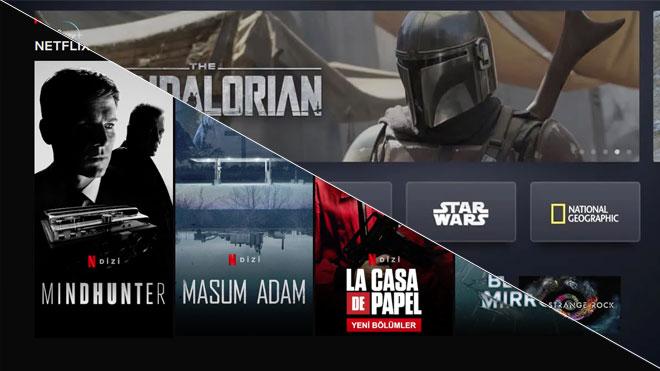 Netflix Disney+ rekabeti