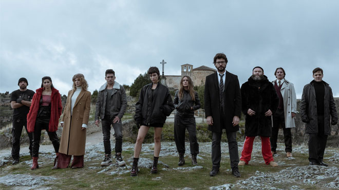 Netflix La Casa de Papel 3. sezon