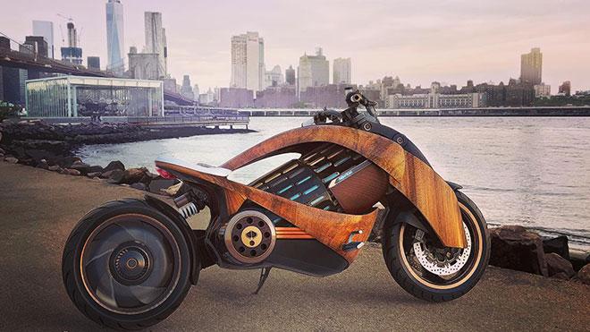 Newron elektrikli motosiklet