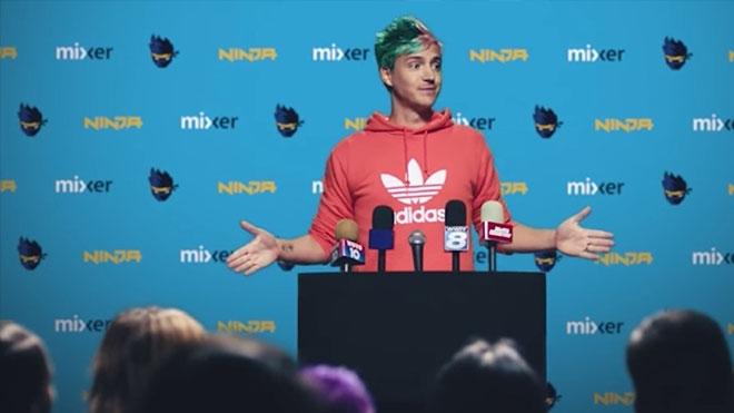 Ninja Twitch yerine Mixer platformunu seçti