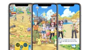 Pokemon Masters iOS ve Android için yayında