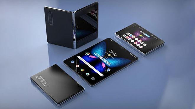 katlanabilir telefon Samsung Galaxy Fold 2