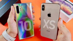 Samsung Galaxy Note 10 vs iPhone Xs Max