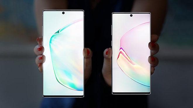 Samsung Galaxy Note 10 Plus vs Samsung Galaxy Note 10