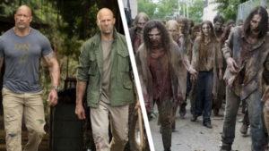 The Walking Dead Hobbs and Shaw için Dwayne Johnson tweet'i