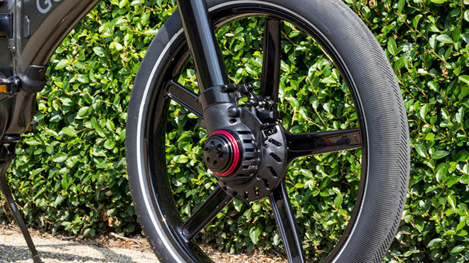 Gocycle GXi katlanabilir elektrikli bisiklet
