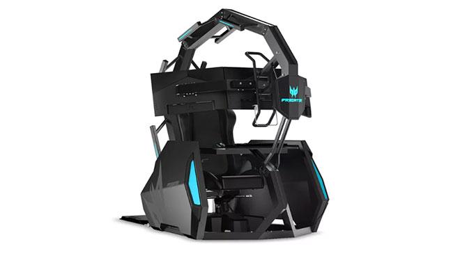 Acer Predator Thronos Air oyuncu kokpiti