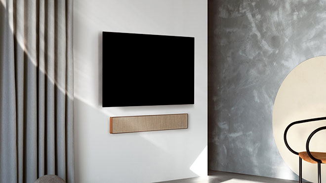 beosound stage soundbar. Black Bedroom Furniture Sets. Home Design Ideas