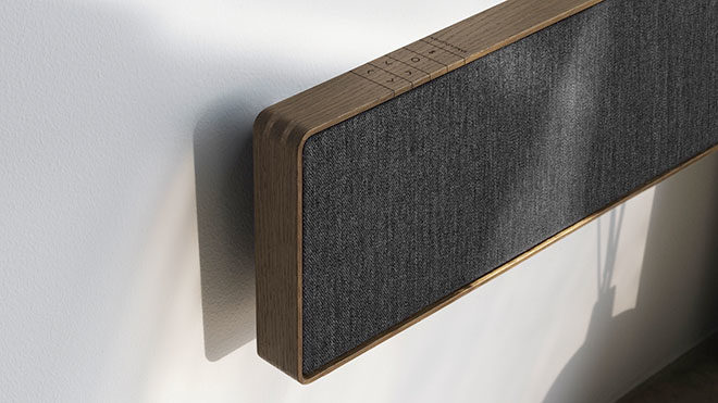 bang olufsen imzal ilk soundbar modeli beosound stage. Black Bedroom Furniture Sets. Home Design Ideas