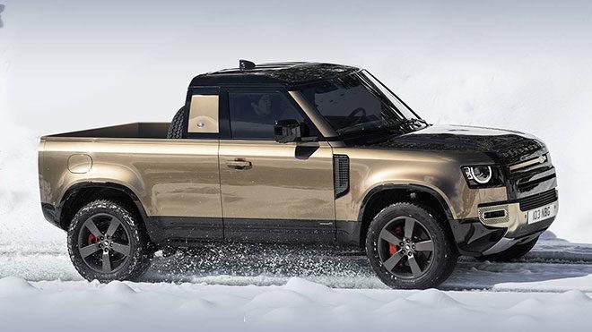 2020 Land Rover Defender Pickup
