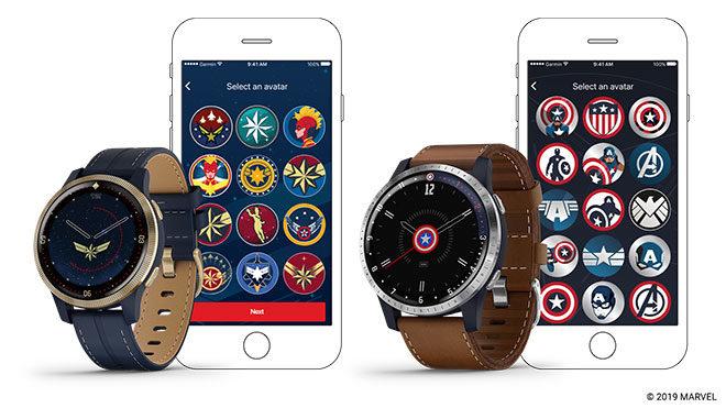 Garmin akıllı saat captain america captain marvel