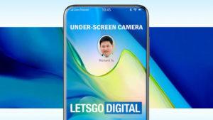 Huawei ekran altı kamera Huawei P40