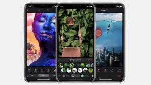 iOS fotoğraf düzenleme uygulaması