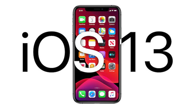 iOS 13 Apple