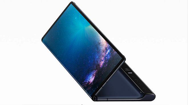Huawei Mate X katlanabilir telefon