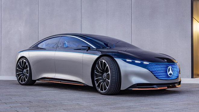 Mercedes-Benz Mercedes Vision EQS