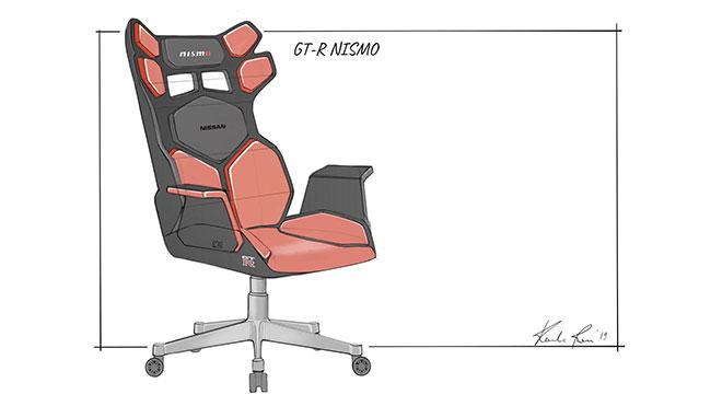 Nissan oyuncu koltuğu