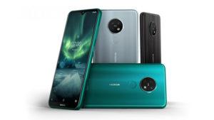 Nokia 7.2 Nokia 6.2