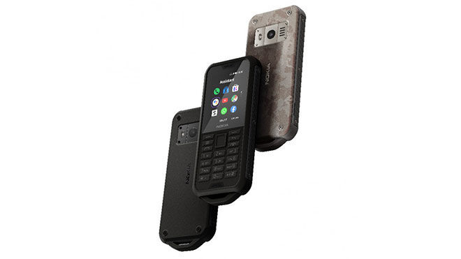 Nokia 800 Tough ve Nokia 2720 Flip