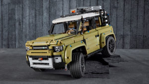 2020 Land Rover Defender Lego