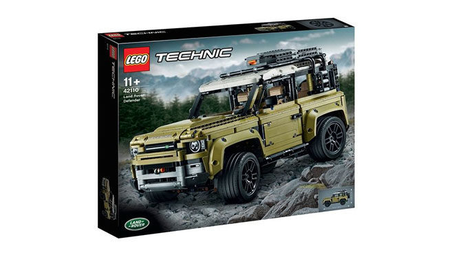 2020 Land Rover Defender Lego