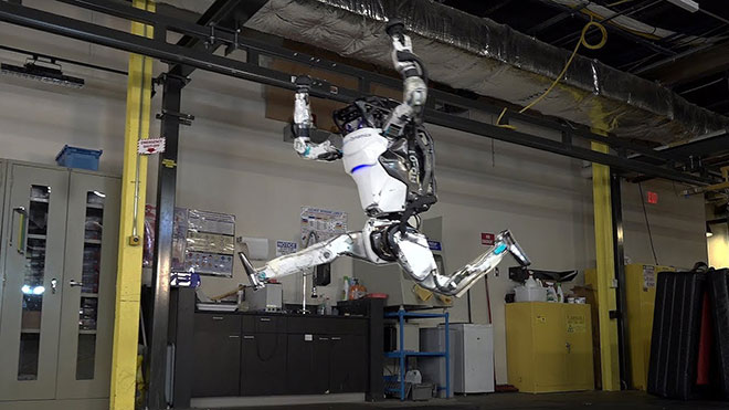 Atlas Boston Dynamics insansı robot