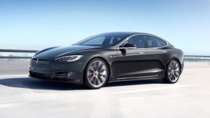 Elon Musk Tesla Model S Porsche Taycan