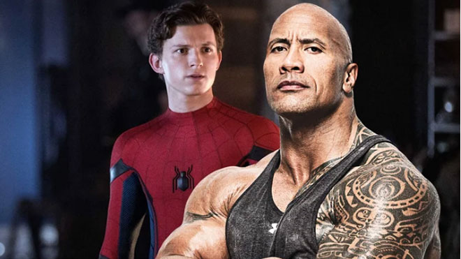 tom holland dwayne johnson