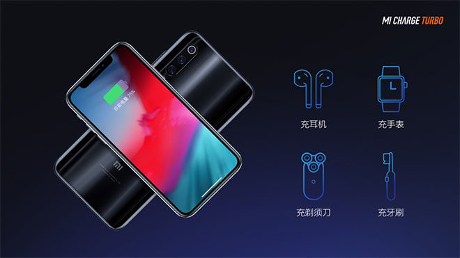 Xiaomi 30W kablosuz şarj