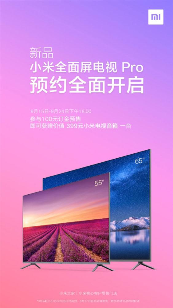Xiaomi Mi TV Pro akıllı televizyon