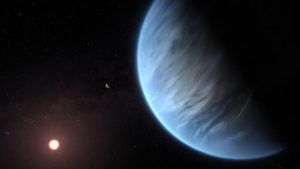 NASA K2-18 b ötegezegen