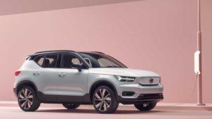 Volvo XC40 Recharge elektrikli otomobil
