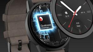 Akıllı saat Snapdragon Wear 3300
