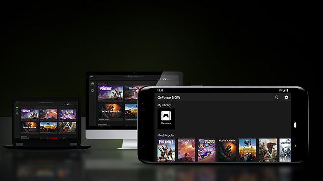Android Nvidia GeForce Now