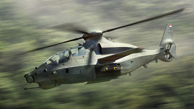 Bell 360 Invictus saldırı helikopteri