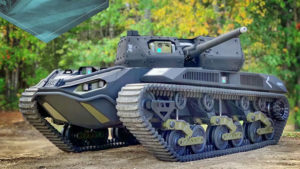 Ripsaw M5 RCV insansız tank