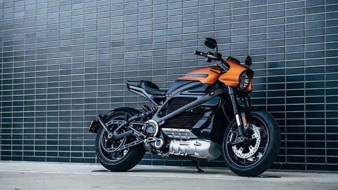 elektrikli motosiklet Harley-Davidson LiveWire