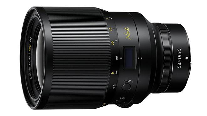 Nikkor Z 58mm F0.95 Noct