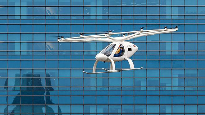 uçan taksi volocopter