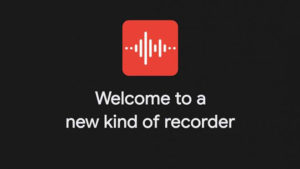Google Android Recorder App