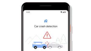 Google Personal Safety Android uygulaması trafik kazası
