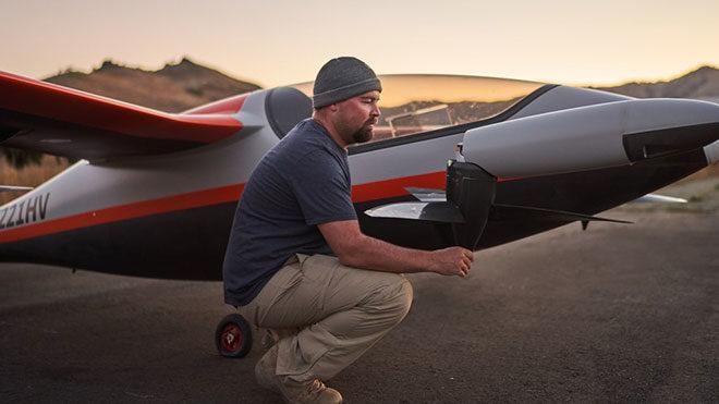 Kitty Hawk elektrikli uçak Heaviside