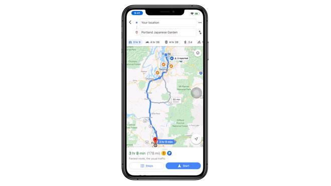 Google Maps nihayet işlevsel Android özelliğini iOS'e getiriyor