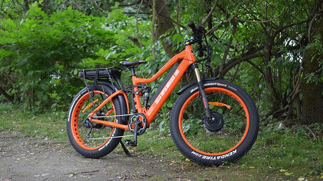 Super Monarch elektrikli bisiklet