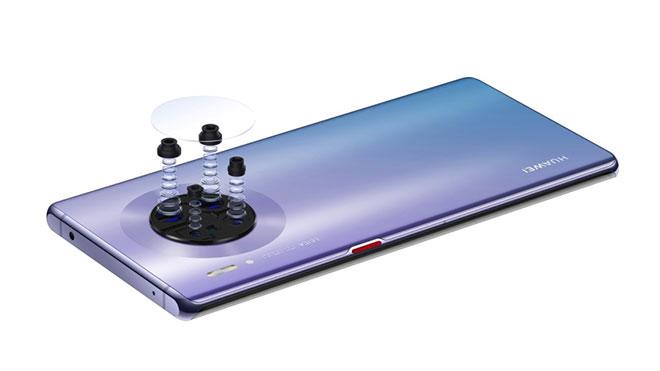 Huawei Mate 30 Pro 7680 fps video