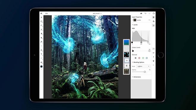 iPad Photoshop CC