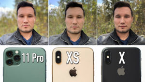 iPhone 11 Pro, iPhone Xs ve iPhone X kamera testinde karşı karşıya [Video]